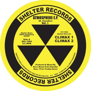 Kerri CHANDLER - Atmosphere EP (reissue)