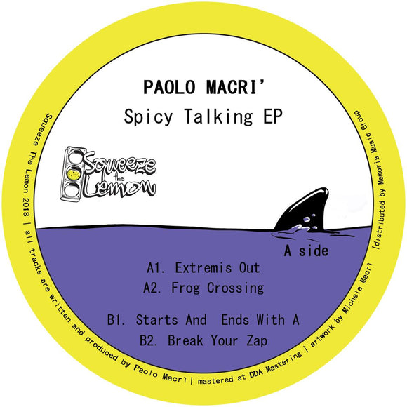 Paolo MACRI - Spicy Talking EP