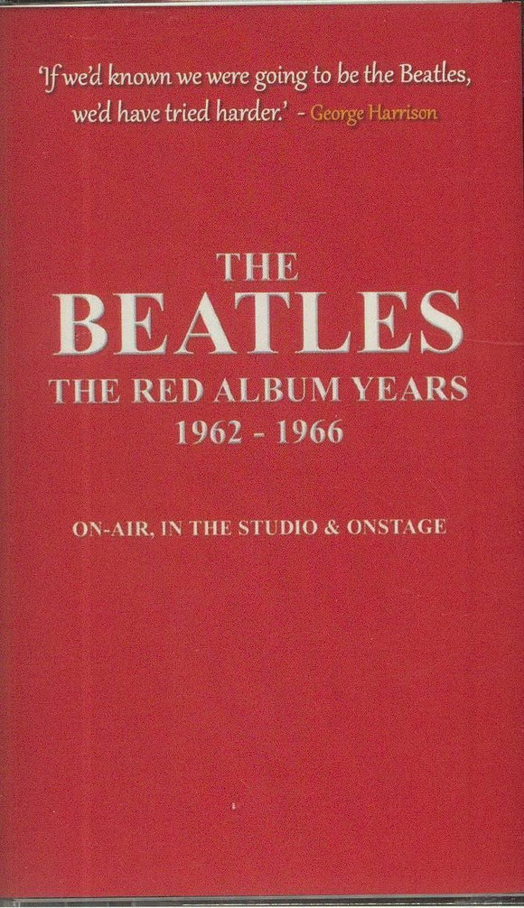 THE BEATLES - The Red Album Years 1962-1966
