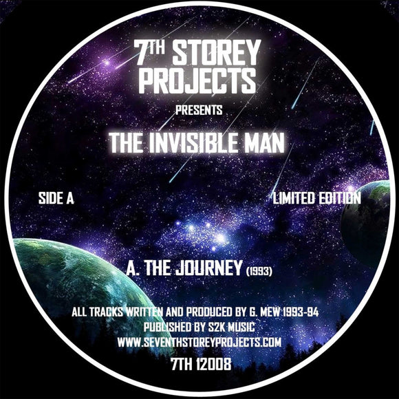 The Invisible Man - The Journey EP [Repress] (ONE PER PERSON)