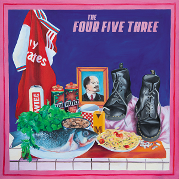 The Jacques - The Four Five Three [LP]