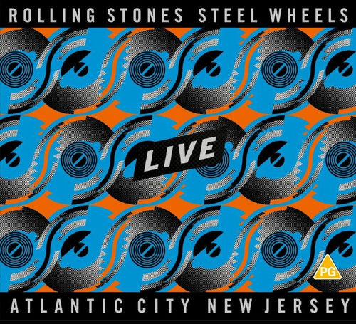 Rolling Stones - Steel Wheels Live Atlantic City New Jersey [SDBR+2CD]