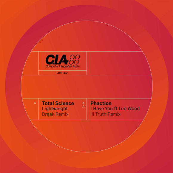Total Science - Lightweight (Break Remix) / Phaction - I Have You (Ill Truth Remix) [Limited 12