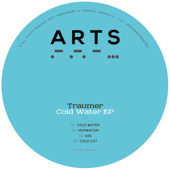 Traumer - Cold Water EP - Black Vinyl Repress