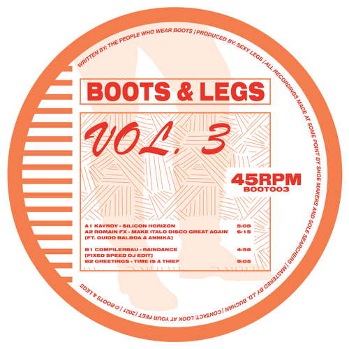 VARIOUS ARTISTS - BOOTS & LEGS VOL. 3 EP