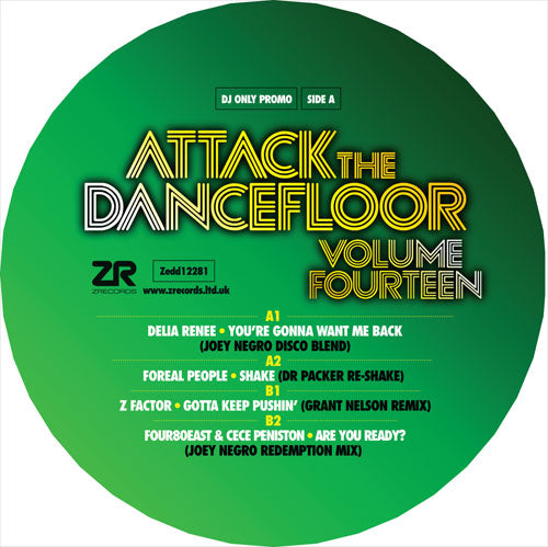 Various Artists - Attack The Dancefloor Vol.14