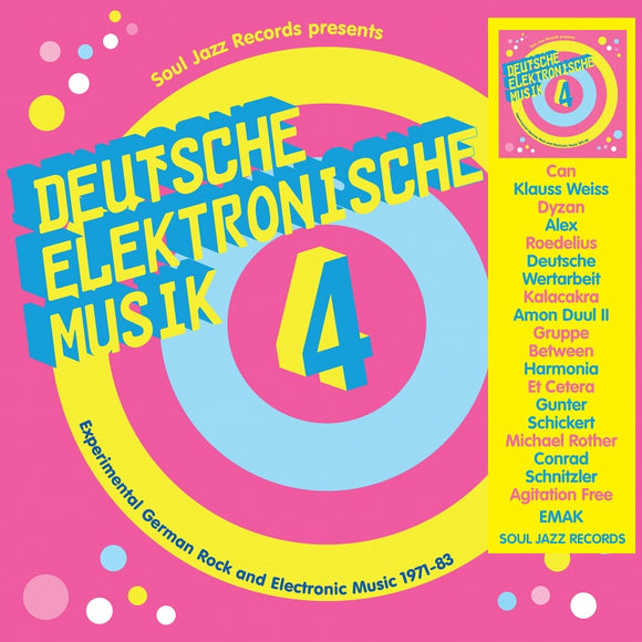 VA / Soul Jazz Records Presents - DEUTSCHE ELEKTRONISCHE MUSIK 4 - Experimental German Rock and Electronic Music 1971-83 [LP]