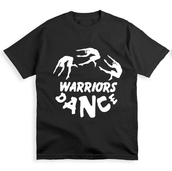 WARRIORS DANCE - T-SHIRT BLACK MEDIUM (1 per person)