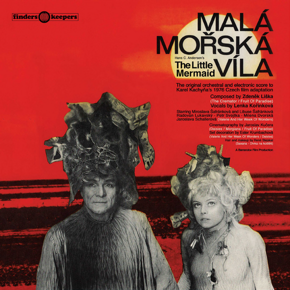 ZDENEK LISKA - MALA MORSKA VILA (THE LITTLE MERMAID) [Black vinyl LP]