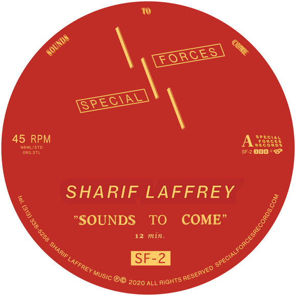 Sharif Laffrey - Sounds To Come [Single Sided 12