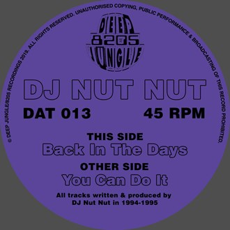 DJ Nut Nut - You Can Do It