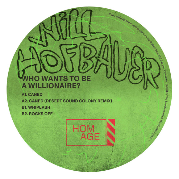 Will Hofbauer - Who Wants To Be A Willionaire? EP