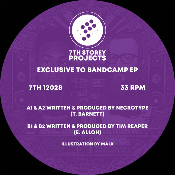 Necrotype & Tim Reaper - Exclusive to Bandcamp EP