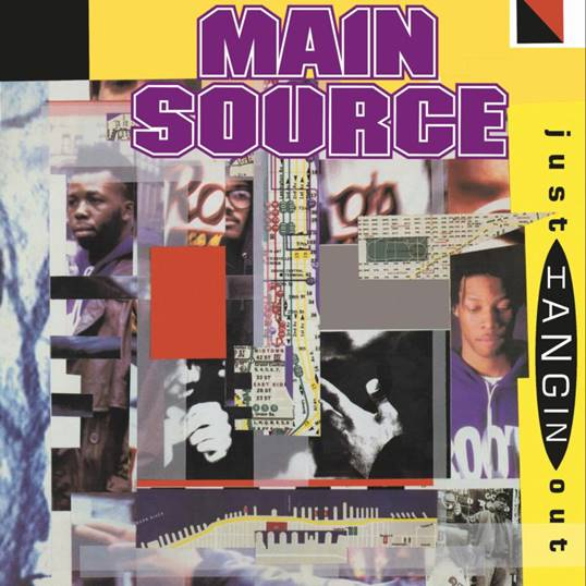 Main Source - Just Hangin' Out /  Live At The BBQ [Purple Vinyl]