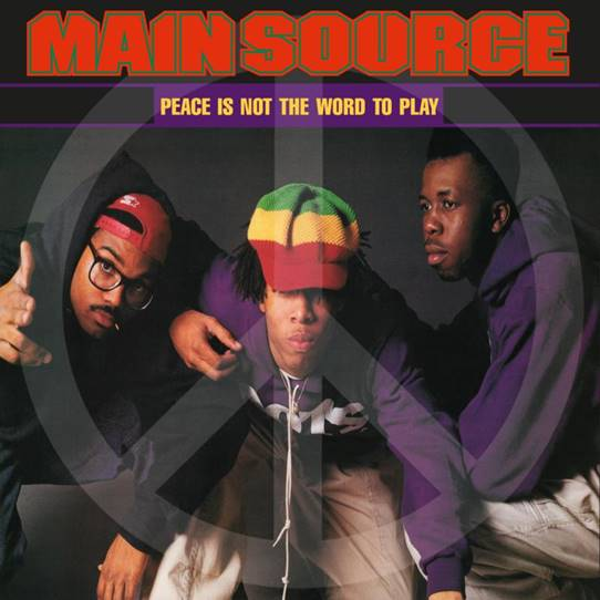 Main Source - Peace Is Not The Word To Play (Remix) / Peace Is Not The Word To Play (Album Version) [Red Vinyl]