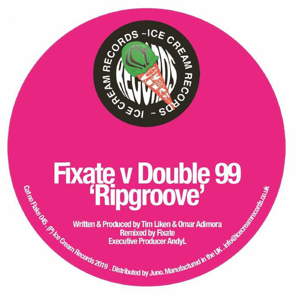 DOUBLE99 - Ripgroove (Fixate remix)