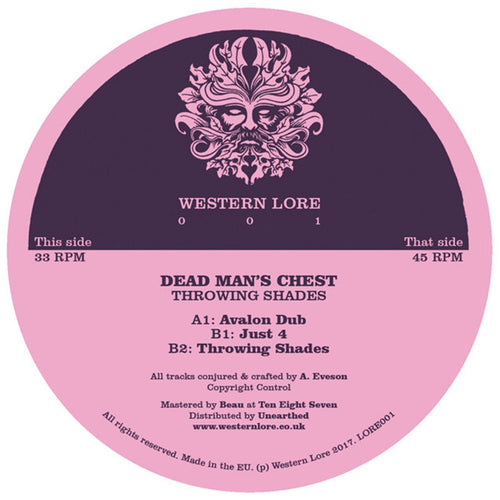 Dead Man's Chest - Throwing Shades EP [Plain Sleeve Repress]