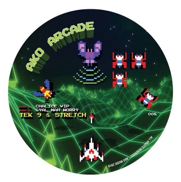 Tek9 & Stretch - Chalice VIP [Picture Disc] ONE PER PERSON