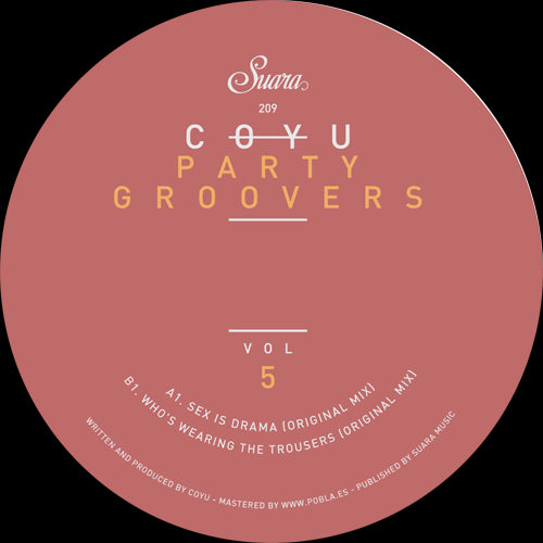 Coyu - Party Groovers Vol. 5