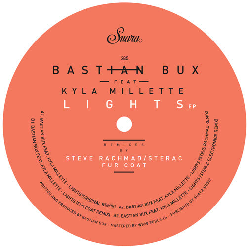 Bastian Bux feat. Kyla Millette - Lights EP