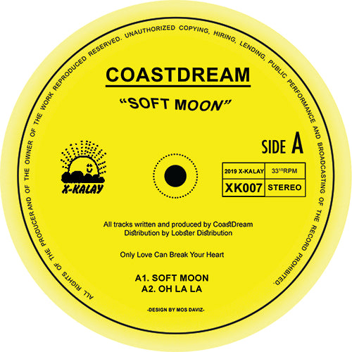 COASTDREAM - Soft Moon