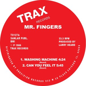 MR FINGERS - Washing Machine