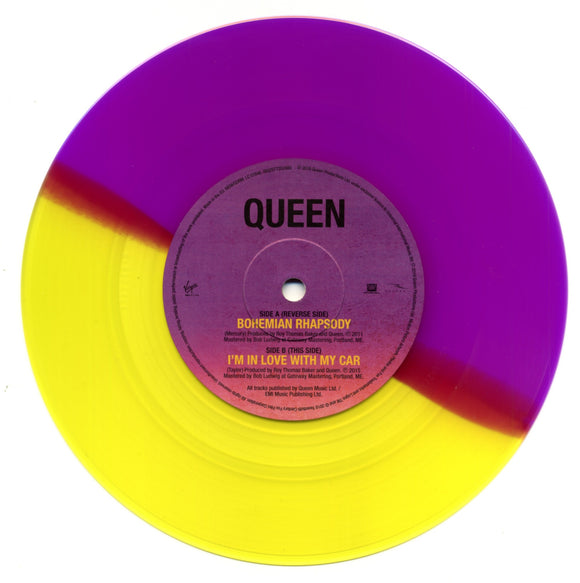 QUEEN - Bohemian Rhapsody (Record Store Day 2019) (limited split coloured vinyl 7