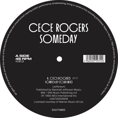 Cece ROGERS - Someday