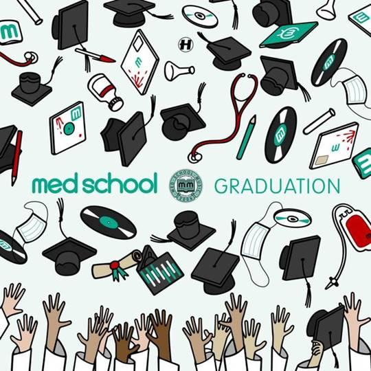VARIOUS - Med School: Graduation (3xLP + 10