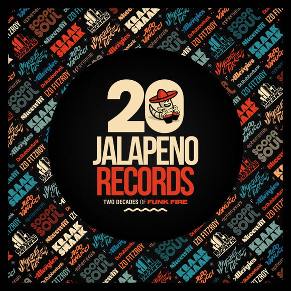 Various Artists - Jalapeno Records: Two Decades of Funk Fire