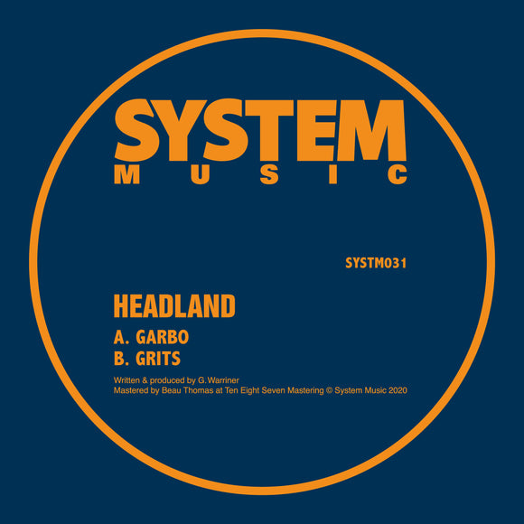 Headland - Garbo / Grits [10