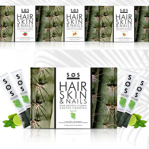 4 Month Hair Growth Bundle + Free Bottle - SOS Hair Care - The Leading Haircare Brand