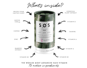 Hair Repair, Hair Health, Hair Growth Vitamin - 7 Day Trial - SOS Hair Care - The Leading Haircare Brand