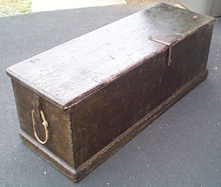 Historic Naval Carpentry: The Sea Chest