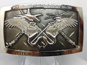 Modern Aviation Boatswain's Mate Belt Buckle