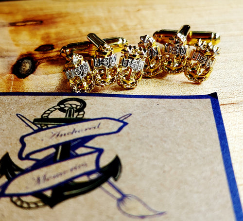 Tri Anchor Cufflinks