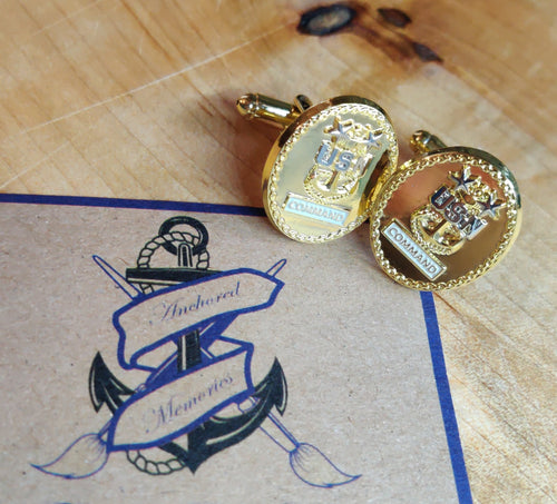 Command Master Chief Cufflinks