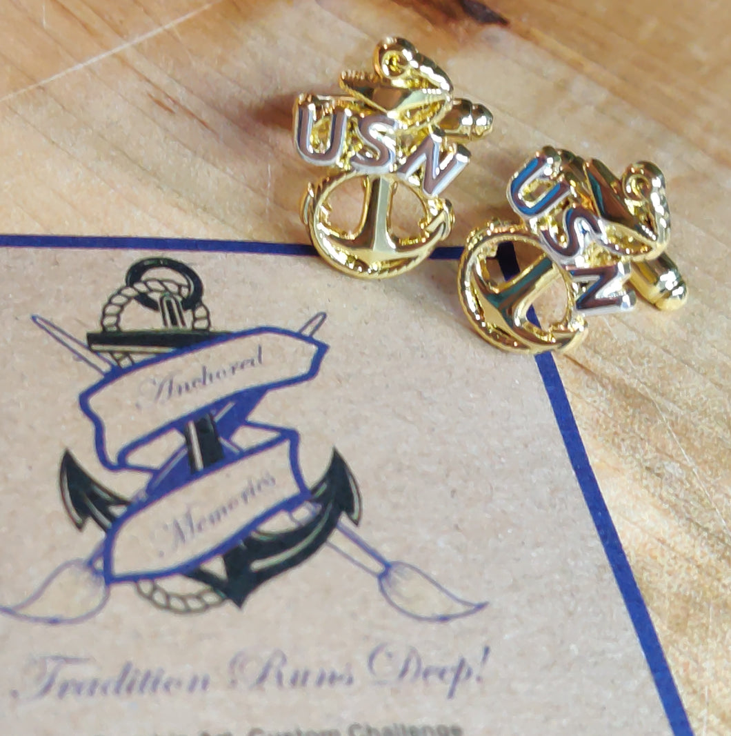 Heritage Anchor Cufflinks