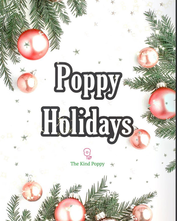 Poppy Holidays Stocking Stuffer Favorites