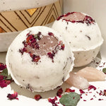 Rose Quartz Heart Bath Bomb