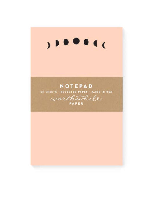 Moon Phase Notepad