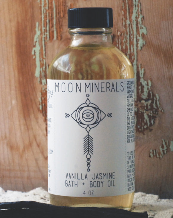 Vanilla Jasmine Bath Oil
