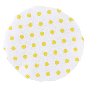 Yellow Dotted Cap