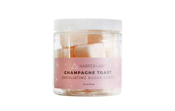 Champagne Toast Exfoliating Cubes