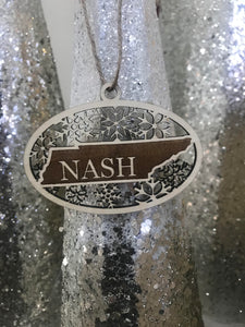 Nash Christmas Ornament