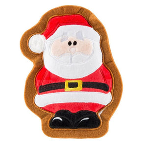 Santa Cookie Dog Toy