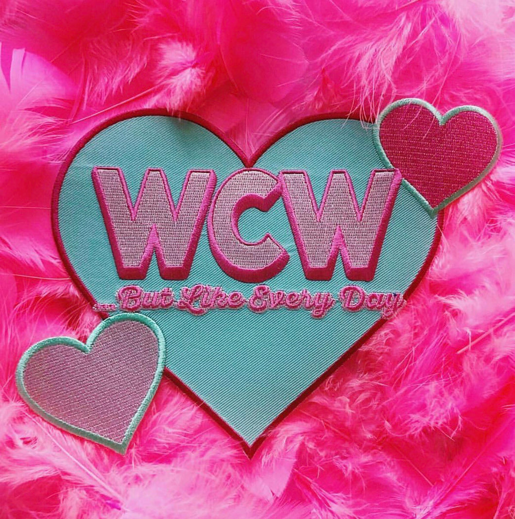 WCW Back Patch Collaboration