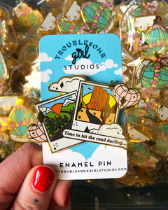 Road Trip! Enamel Pin