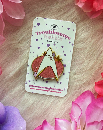 TNG Combadge Enamel Pin