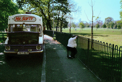 Street - Mr Softy. Clapham Common, London